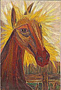 Matusalén el caballo del abuelo