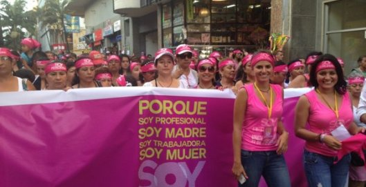 Marcha de Los Espejos - Fotografía del diario La Tarde
