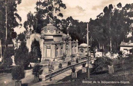 Parque de la Independencia - Bogotá antoguo