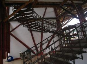 Escaleras - edificio Carder