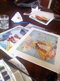 Preparó la ilustración de portada Marie Joelle Giraud López