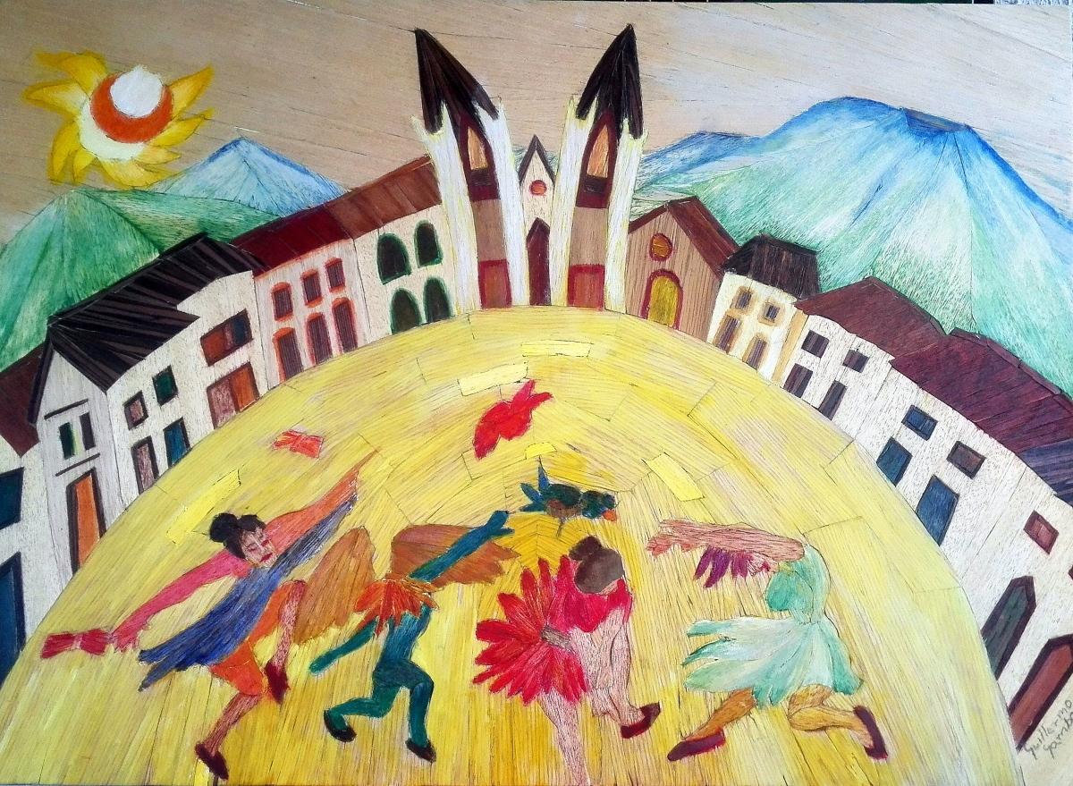 El Congal, diáspora y bordado: Entrevista al escritor GuillermoGamba