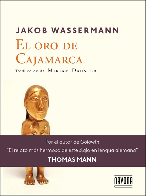 Front cover El oro de Cajamarca
